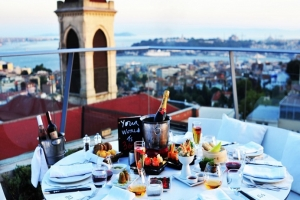 Istanbul New Year Party at Special Restaurant 2021