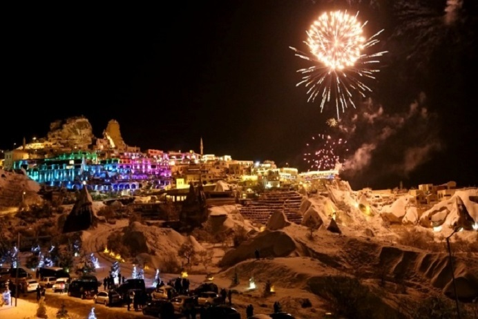 Cappadocia New Year party at Special Restaurant 2021